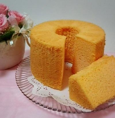 米粉のシフォンケーキ プレーン