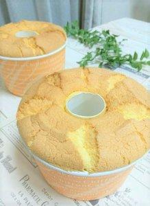 米粉のプレーンシフォンケーキ