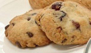 米粉のレーズン&チョコチップクッキー